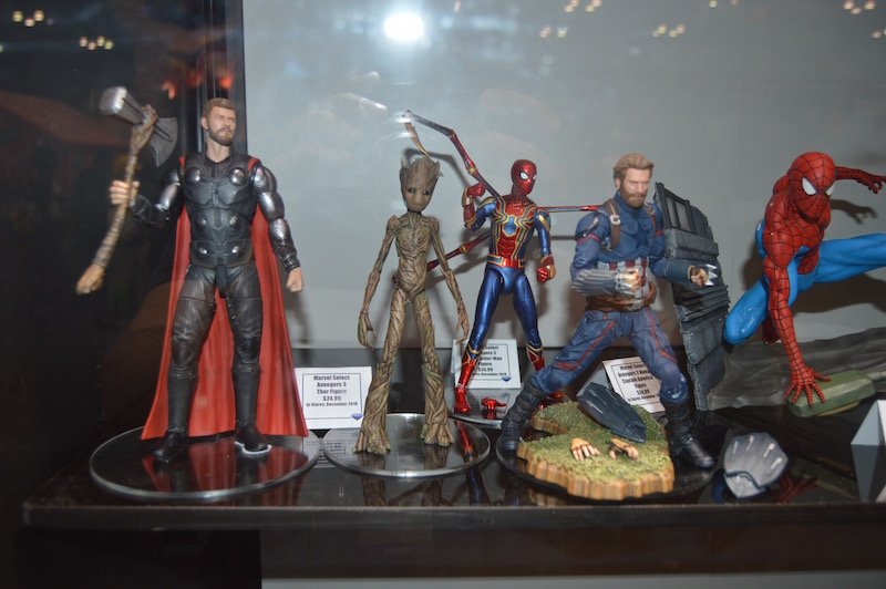 Diamond Select Toys NYCC 2018 Booth Coverage