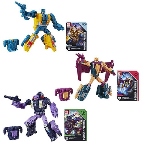 Entertainment Earth – Transformers Generations Power Of The Primes Deluxe Wave 3 In Stock
