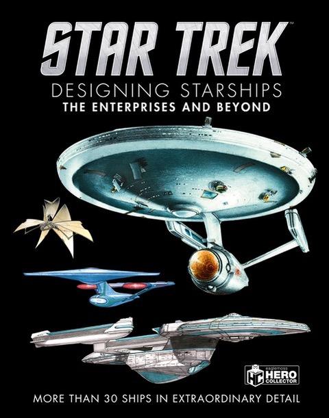 Eaglemoss Hero Collector – Star Trek –Designing Starships Vol. 1