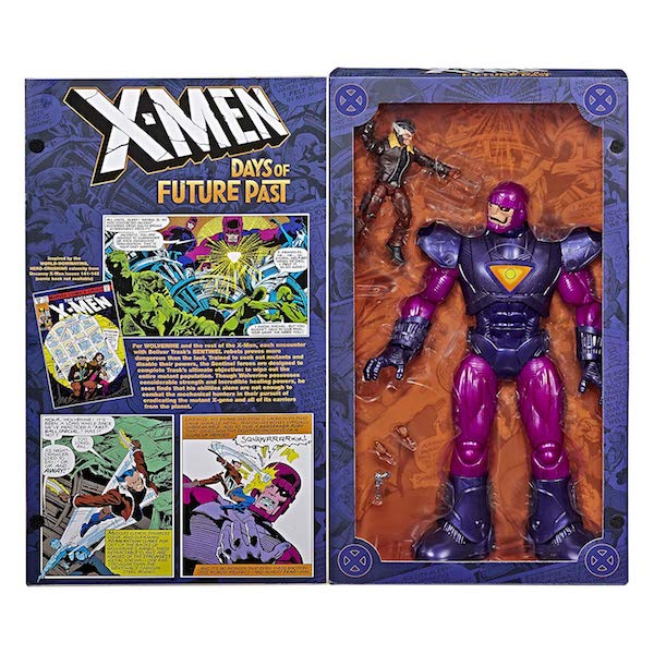 Hasbro Marvel Legends Wolverine And Electronic Sentinel Figure Box Set In Stock On Amazon