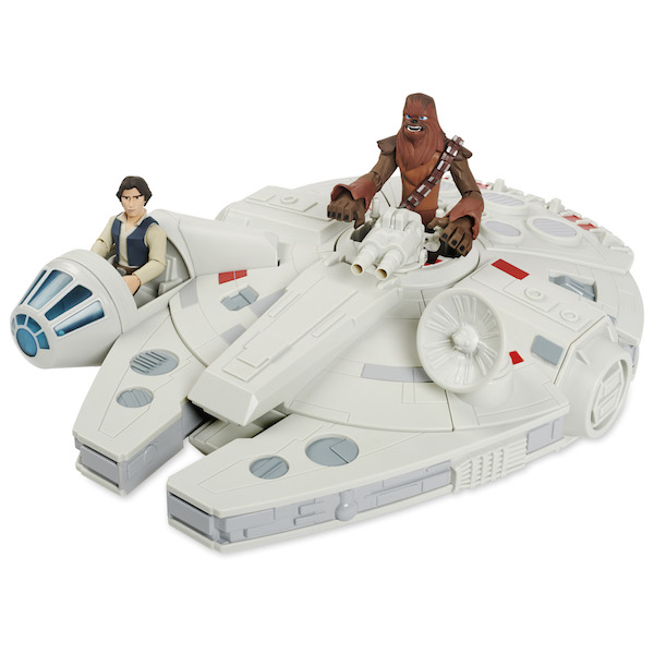 Disney Store Exclusive Star Wars Toy Box Millennium Falcon Play Set Now $47.98