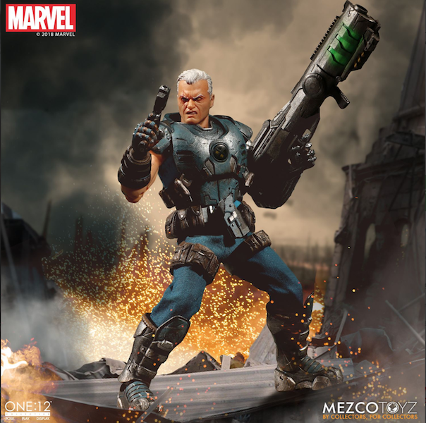 Mezco Toyz One:12 Collective Marvel Comics Cable Figure