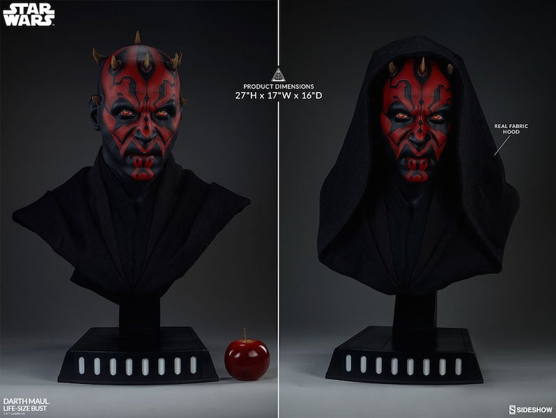 Sideshow Collectibles Star Wars: The Phantom Menace – Darth Maul Life Size Bust