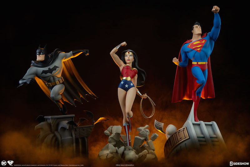 Sideshow Collectibles Superman The Animated Series Collection Superman Statue Pre-Orders