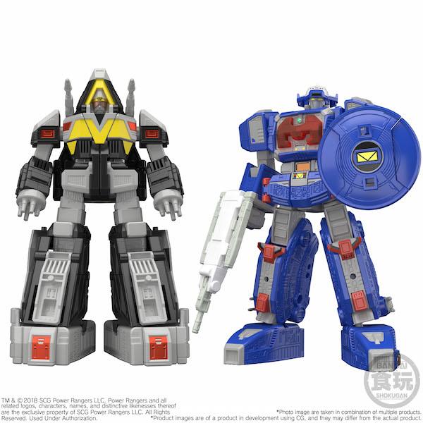 Bluefin Opens Pre-Orders For Bandai Shokugan Mini-Pla Power Rangers Astro And Delta Megazord Model Kits