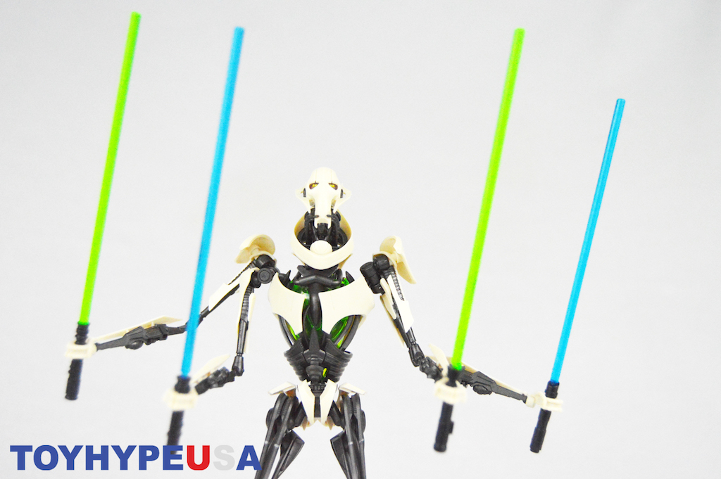 Star Wars: Revenge Of The Sith General Grievous 1/12th Scale Model Kit Review