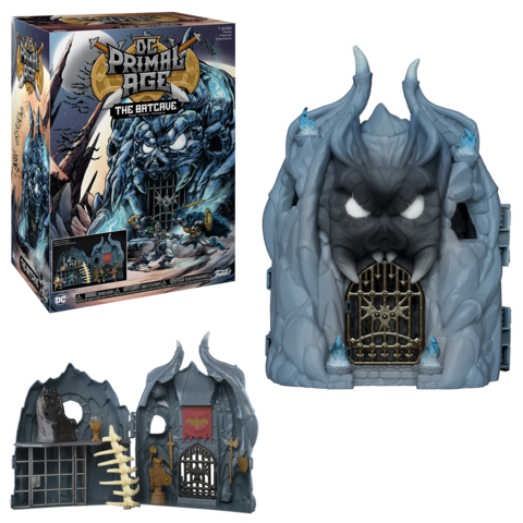 Funko DC Primal Age Batcave Playset Now $25 On Amazon
