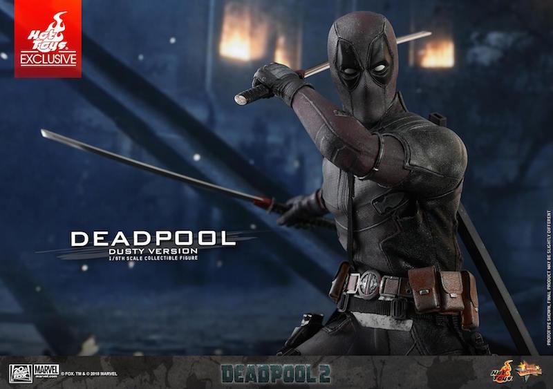 Hot Toys Deadpool 2 – Dusty Deadpool Sixth Scale Figure