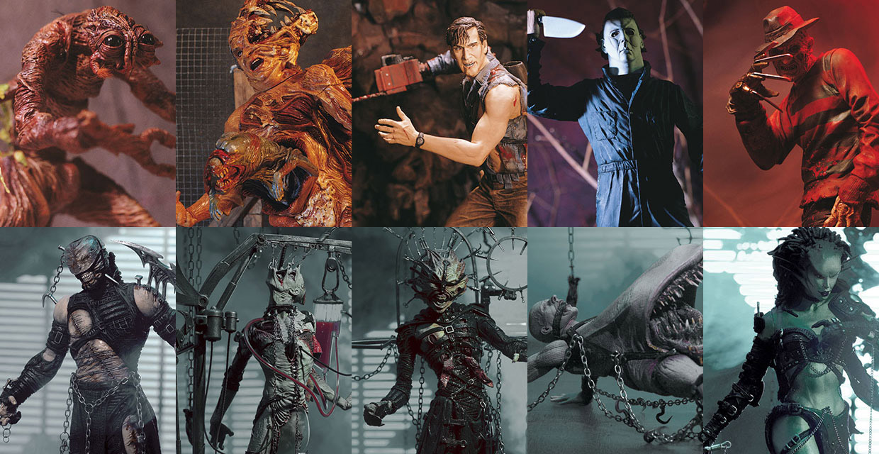 McFarlane Toys To Revive Movie Maniacs & Tortured Souls Toy Lines