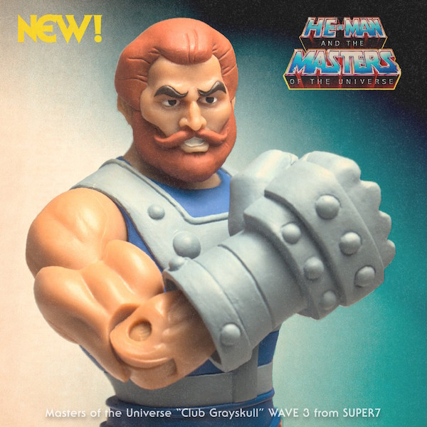 Super7 Masters Of The Universe Classics Club Grayskull Wave 3 Pre-Orders Start October 22