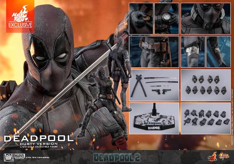 Hot Toys Deadpool 2 – Dusty Deadpool Sixth Scale Figure Pre-Orders