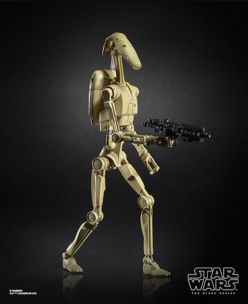 Hasbro Star Wars The Black Series 6″ Battle Droid Figures For $19.99 At Amazon