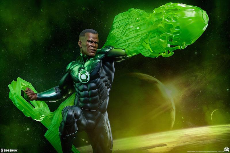 Sideshow Collectibles DC Comics Green Lantern John Stewart Premium Format Figure