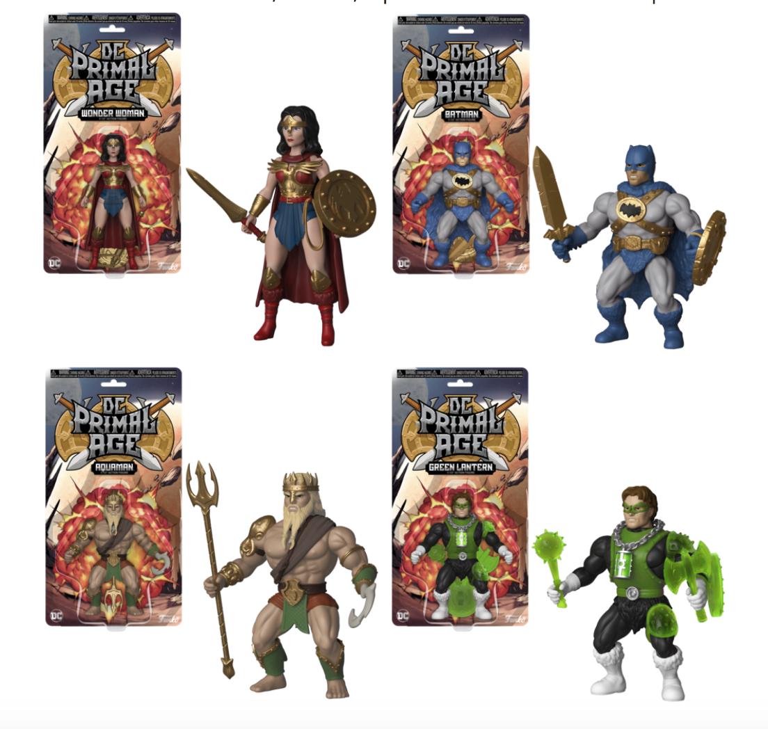 NYCC 2018 – Funko Announces DC Primal Age Retro Inspired Figures & Pre-Orders