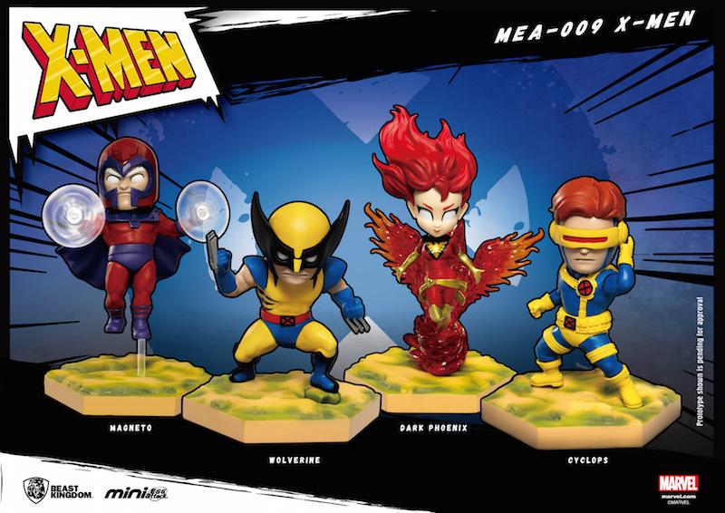 Beast Kingdom – X-Men Mini Egg Attack Statue Series