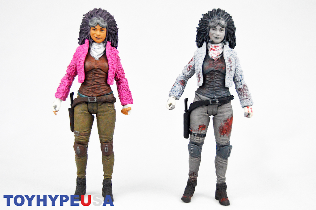 McFarlane Toys & Skybound The Walking Dead NYCC 2018 Exclusive Princess Of Pittsburgh Figures Review