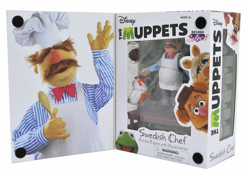 Diamond Select Toys The Muppets Select Swedish Chef Deluxe Gift Set