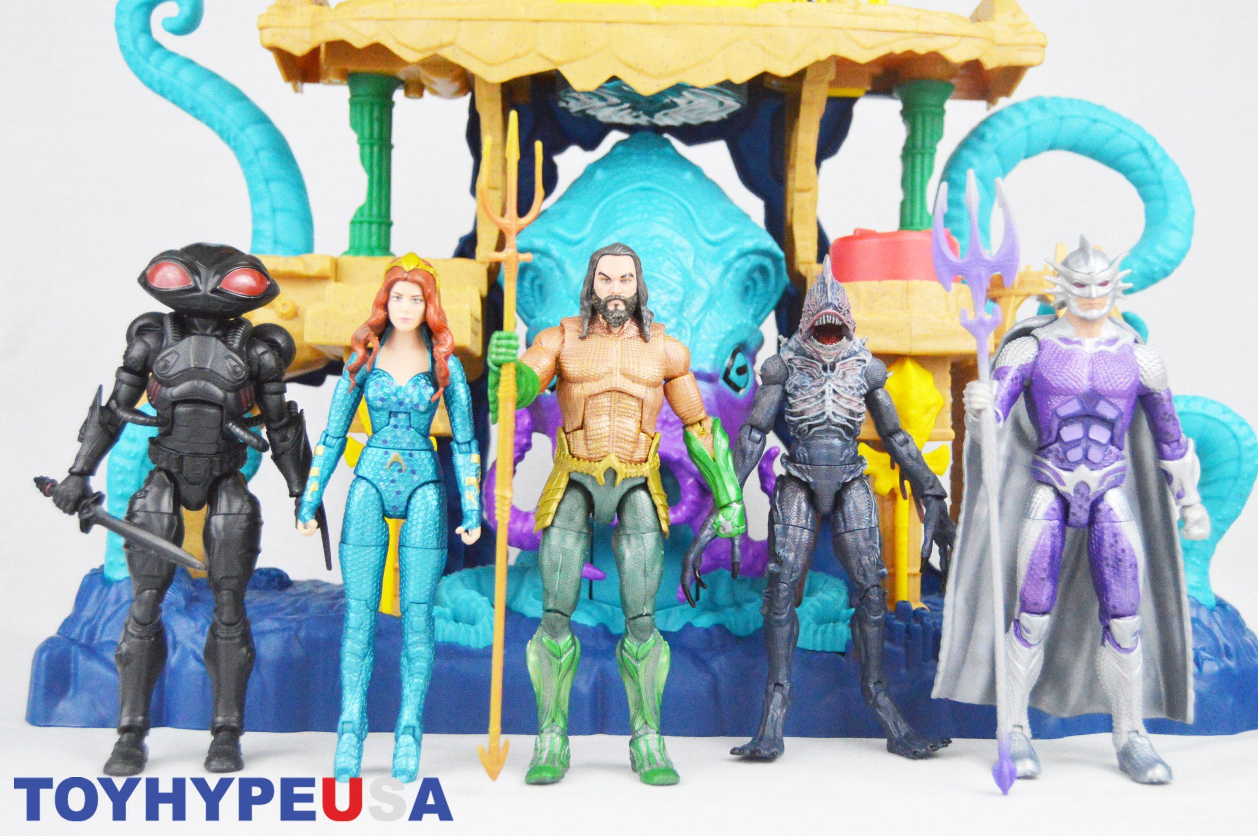 Mattel – Aquaman Movie DC Multiverse 6″ Figures Review