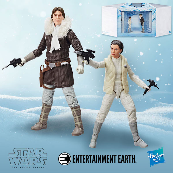 Entertainment Earth Exclusive – Hasbro Star Wars The Black Series 6″ Hoth Princess Leia Organa & Han Solo Figures In Limited Supply