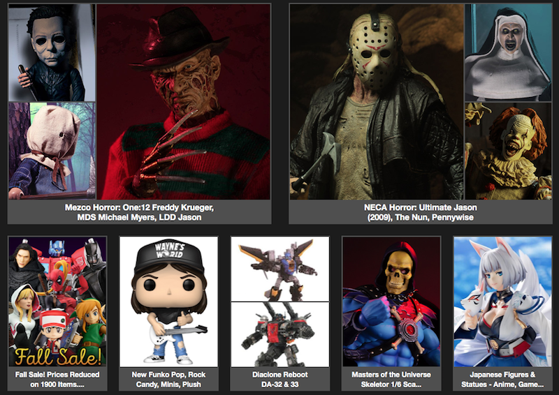 BigBadToyStore News – One:12 Freddy, NECA Horror, 1/6 Skeletor, Fortnite, DBZ, Dragon Quest, Mega Man & More