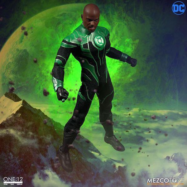 Mezco Toyz One:12 Collective DC Comics John Stewart Green Lantern Figure