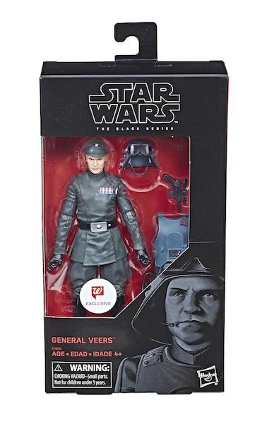 Walgreens Exclusive Star Wars The Black Series 6″ General Veers Figure Now $16.99