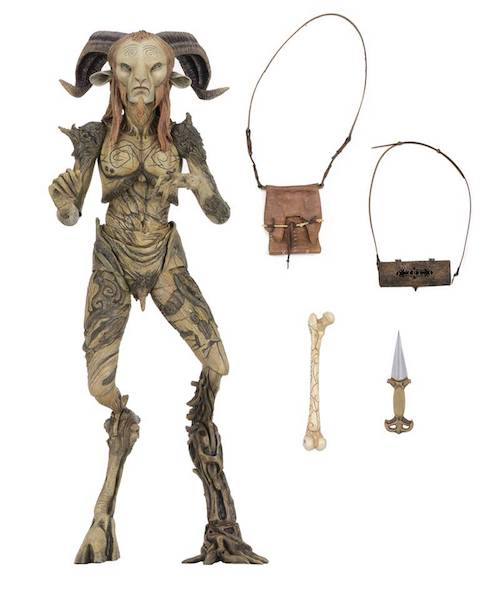 NECA Toys Guillermo del Toro Signature Collection – 7″ Scale Faun (Pan's Labyrinth) Figure