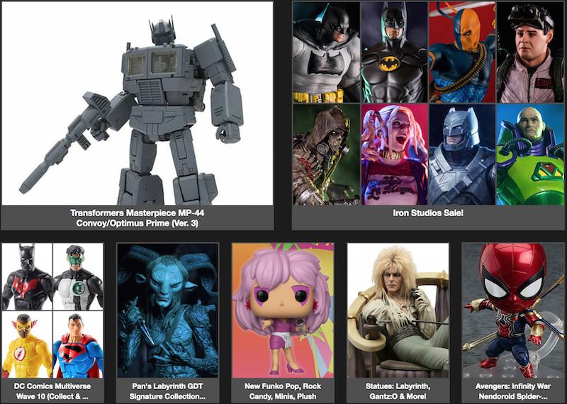 BigBadToyStore News – Transformers, DC Multiverse, Pan's Labyrinth, IT, Spider-Man, Terminator, Star Wars & More