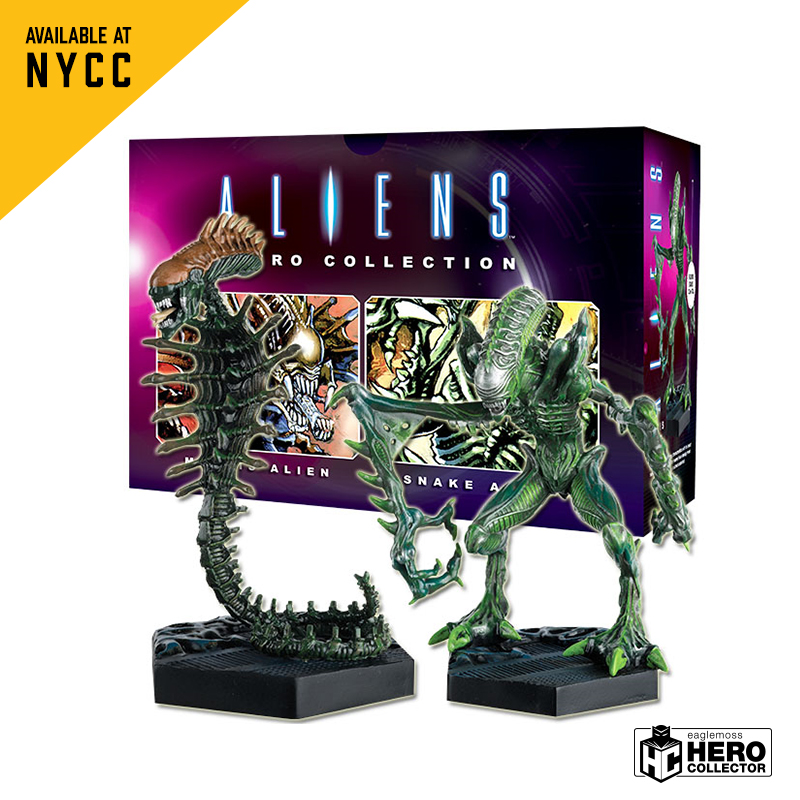 Eaglemoss Hero Collector Unleashes New Aliens And Predators At NYCC 2018