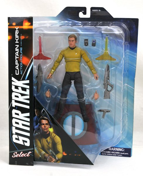 Diamond Select Toys Star Trek Into Darkness Kirk And Spock Select Figures In-Packaging