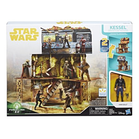 Hasbro Solo: A Star Wars Story Force Link 2.0 Kessel Mine Escape Walmart Exclusive Playset