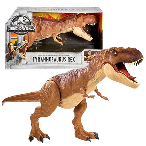 Mattel – Jurassic World: Fallen Kingdom Super Colossal T-Rex Now $35