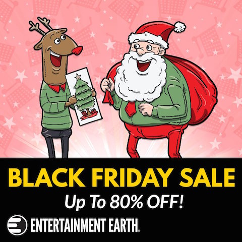 Entertainment Earth – Black Friday 2018 Sale Of Up To 80% Off & Our Exclusive $10 Coupon Code
