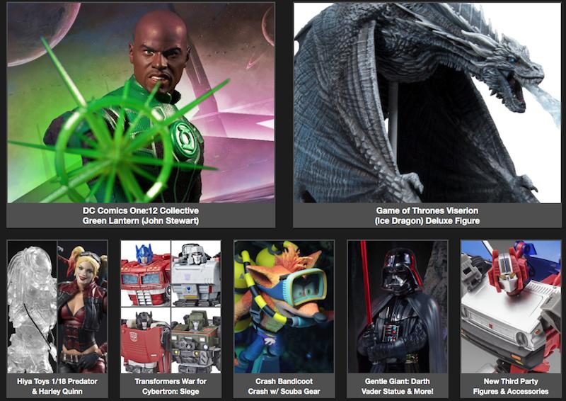 BigBadToyStore News – One:12 Green Lantern, TF War For Cybertron:Siege, MOTU, Game Of Thrones, Predator, Rick&Morty & More