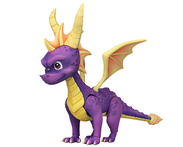NECA Toys Spyro The Dragon 7″ Scale Figure Available Once More