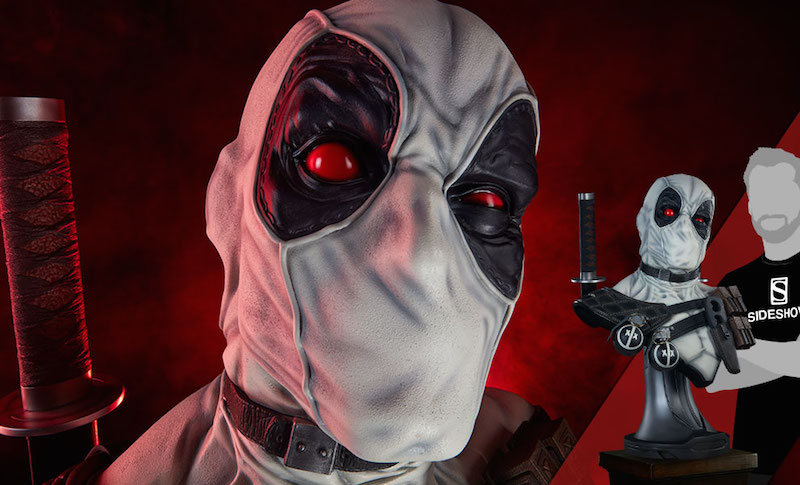 Sideshow Collectibles Deadpool X-Force Life-Size Bust