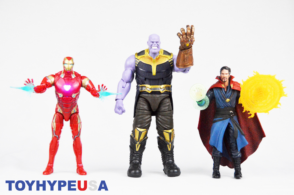 Hasbro Marvel Legends 6″ Cinematic Universe 10th Anniversary Avengers: Infinity War 3 Pack Review