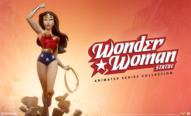 Sideshow Collectibles DC Animated Wonder Woman Statue