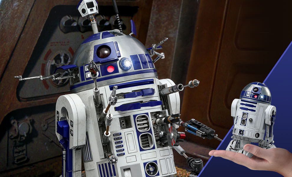 Hot Toys R2-D2 Deluxe Version Sixth Scale Figure Pre-Orders