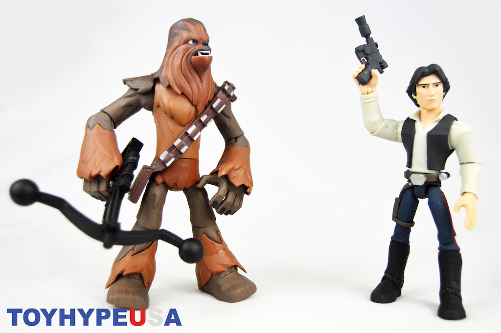 Disney Store Exclusive Star Wars Toy Box – Chewbacca & Han Solo Figures Review