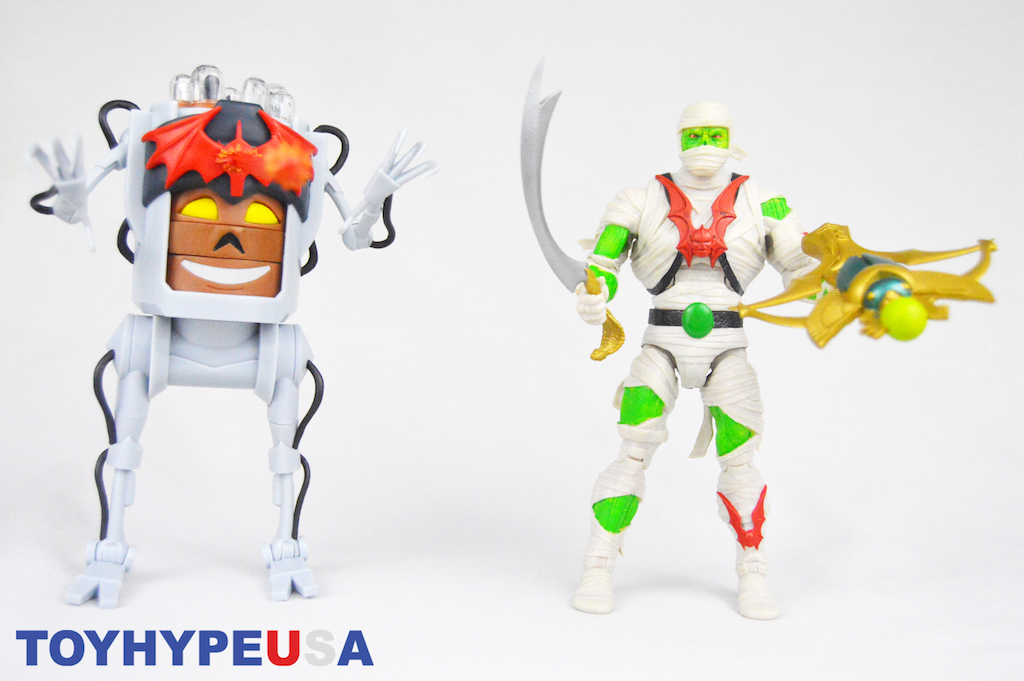Super7 Masters Of The Universe Classics Dylamug & Wrap Trap Figures Review