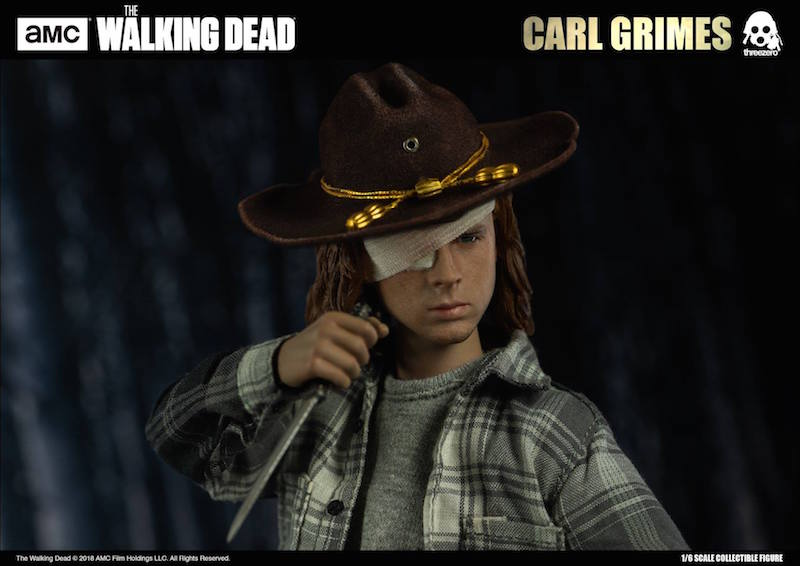Threezero The Walking Dead – Carl Grimes Sixth Scale Figure
