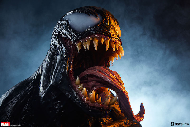 Sideshow Collectibles Marvel Comics Life Size Venom Bust Pre-Orders