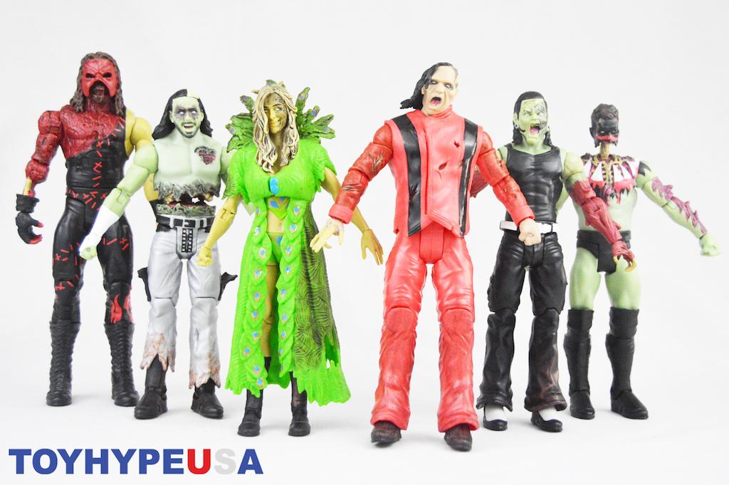 Mattel – WWE Zombies Series 3 Figures Review