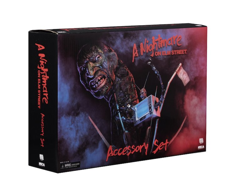 NECA Toys A Nightmare On Elm Street Accessory Pack In-Packaging Images