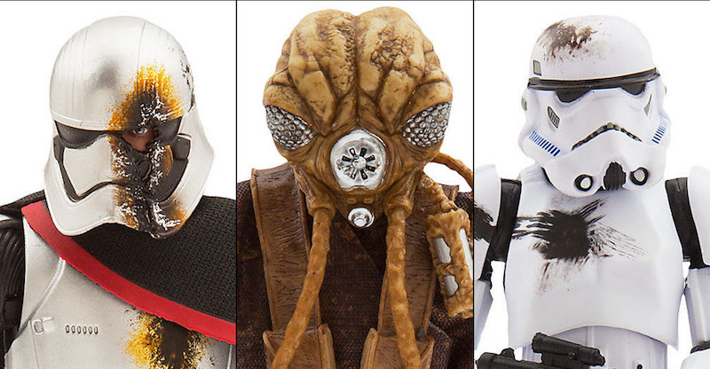 The Disney Store Exclusive Star Wars The Black Series 6″ Figures Available Now