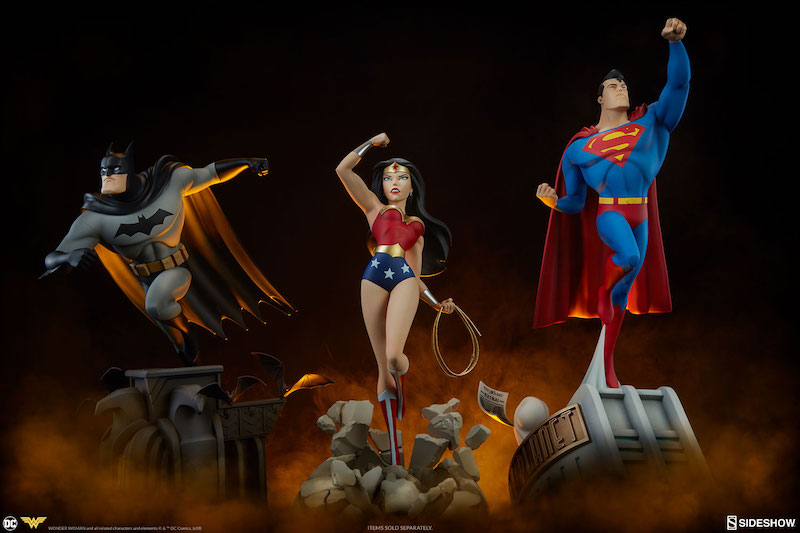 Sideshow Collectibles DC Animated Wonder Woman Statue Pre-Orders