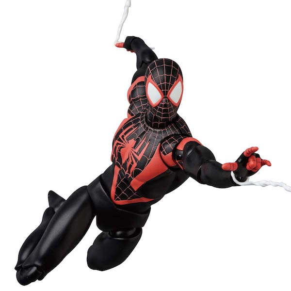 MAFEX Marvel Comics Spider-Man Miles Morales Figure Official Details & Images