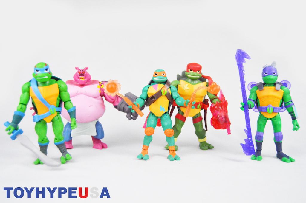 Playmates Toys Rise Of The Teenage Mutant Ninja Turtles Wave 1 Figures Review