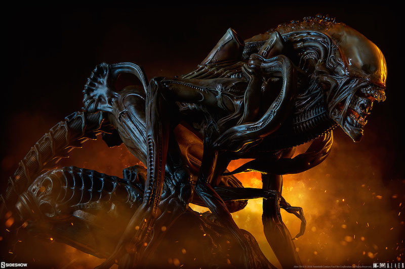 Sideshow Collectibles Alien Warrior Mythos Maquette